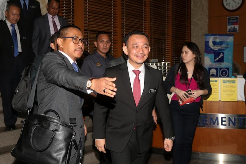 Maszlee did not deny links with Ikram but dismissed claims he was carrying out the group's agenda. — File picture by Choo Choy May