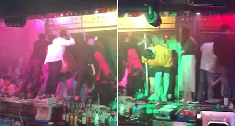 Australian athletes caught up in fatal Korean club balcony collapse
