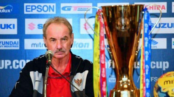 Eks pelatih Timnas Indonesia, Alfred Riedl