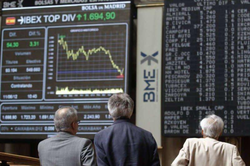 Bursa saham Spanyol turun tajam, indeks IBEX 34 jatuh 4,07 persen