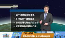 一分鐘報天氣 /週五(07/16日) 東風水氣偏多大氣不穩定 中南部午後對流旺盛