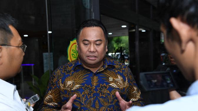 Wakil Ketua DPR Rahmat Gobel, Minta Daerah Turut Cegah Konversi Lahan Pertanian