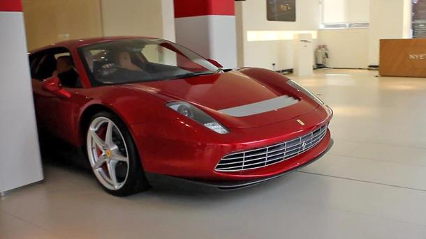 Up close with Eric Clapton's one-off $4.75 million Ferrari SPC-12 EPC