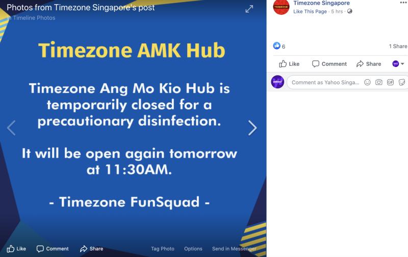 (SCREENCAP: Timezone Singapore/Facebook)