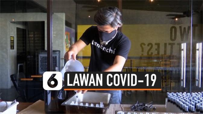 VIDEO: Bantu Lawan Covid-19, Pembuat Bir Ini Ubah Produknya Jadi Sanitizer