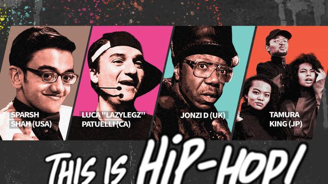This is Hip-Hop persembahan True Colours Festival dan The Yayasan Nippon. (Ist)