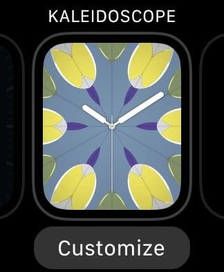 best apple watch faces kaleidoscope
