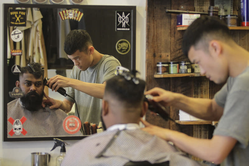 Yesterday, the government announced that barbers, hairdressers and personal grooming businesses would be allowed to resume business from June 10. — Picture by Yusof Mat Isa