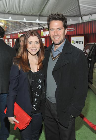 FILE - Alyson Hannigan Expecting Second Child