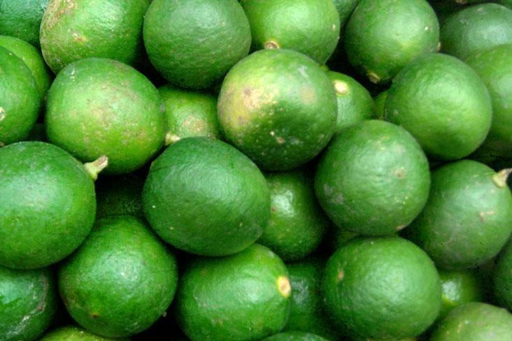 Green limes lend a zesty zing to your final dish
