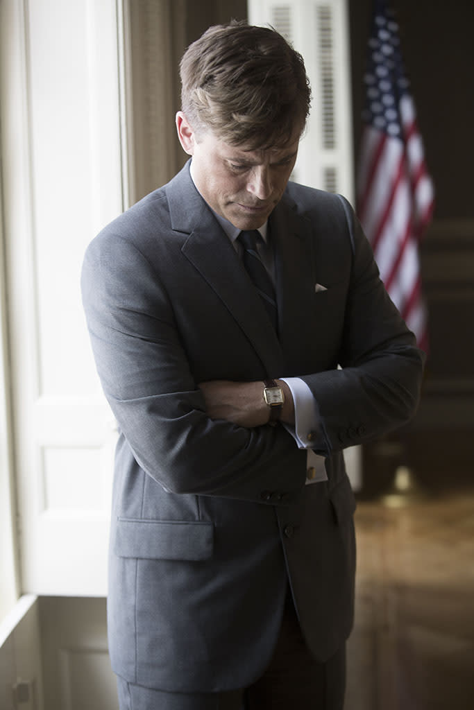 First Look at Rob Lowe as JFK: Yea or Nay? [Photo]