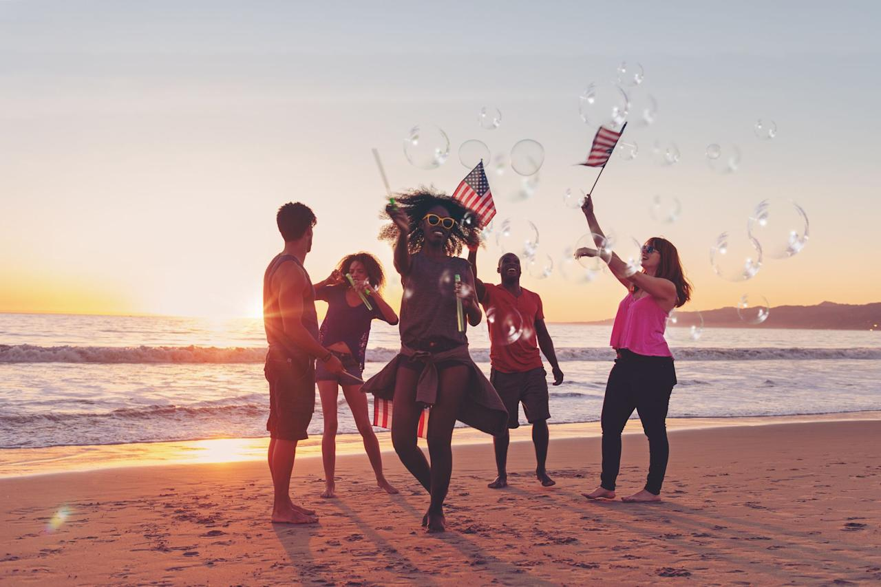 "<p>At its core,<a href=""https://www.goodhousekeeping.com/4th-of-july-ideas/"" target=""_blank""> the Fourth of July </a>is a day set aside for celebrating American independence — but it's also just an ideal time for celebrating in general: we get the day off work, school's out, and the mid-summer sun is shining on pool parties, picnics, beach days, and barbecues from coast to coast. </p><p>If you're planning to celebrate with friends and family, put together a thematic playlist that will <em>definitely</em> hype the crowd. Our list of Fourth of July songs includes overtly patriotic tracks, poignant tunes that celebrate nostalgia and Americana — and just the fun and freedom of American life. Plus, this list is all about dancing, letting loose, and celebrating summer. So cue up these tracks, <a href=""https://www.goodhousekeeping.com/food-recipes/g413/great-grilling-recipes/"" target=""_blank"">fire up the grill</a>, and let's get this Independence Day party started!</p>"