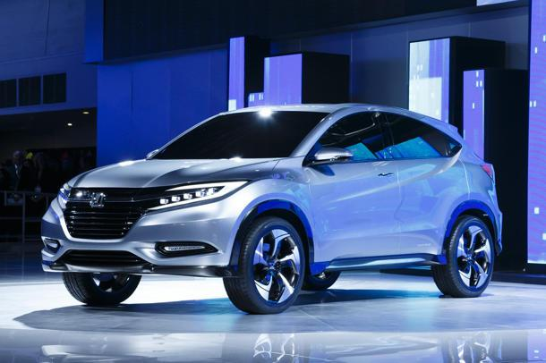 Honda Urban SUV Concept tranforms a Fit into a crossover
