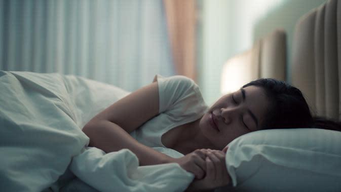 tidur nyenyang di malam hari