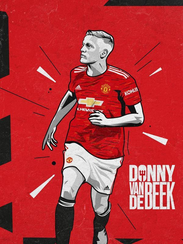Manchester United (MU) resmi mendapatkan Donny van de Beek dari Ajax. (foto: www.instagram.com/manchesterunited)