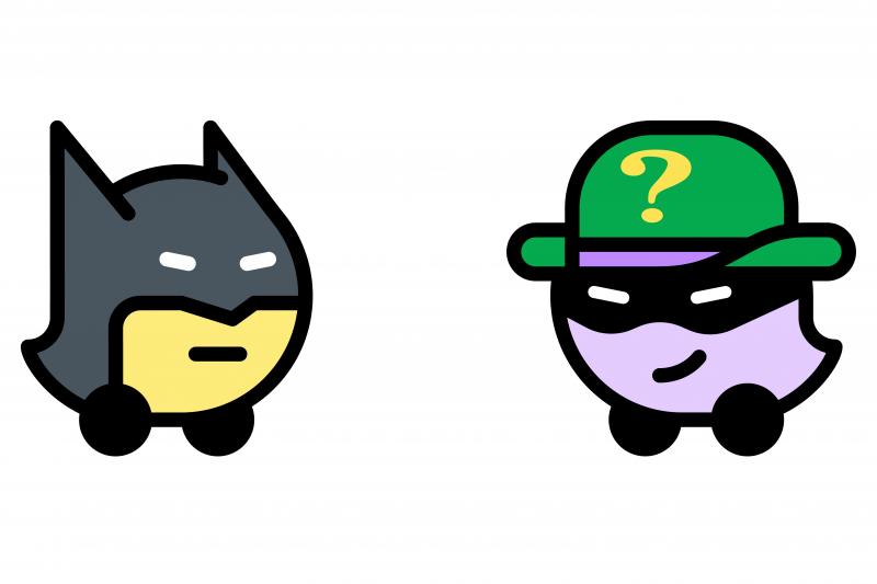 "Waze buat fitur ""mood"" Batman dan The Riddler."