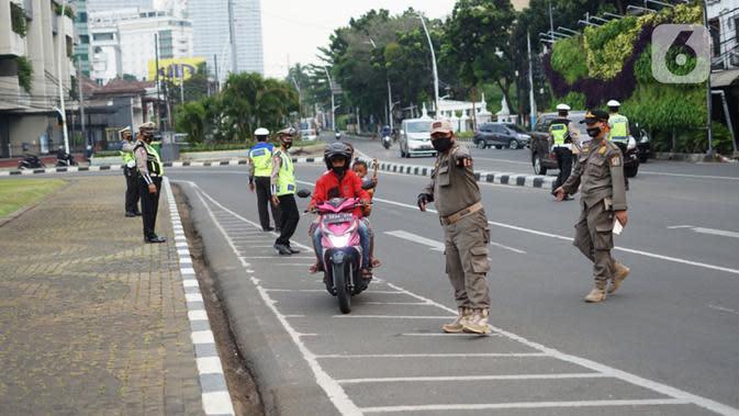 Tempat Usaha hingga Ratusan Perkantoran Ini Disegel Langgar PSBB Jakarta