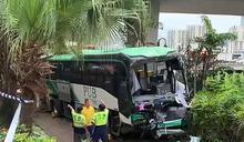 沙田校巴意外致24人傷 司機涉危駕被捕
