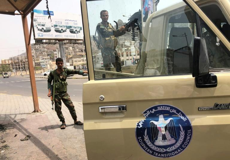 Security Belt forces who seek an independent South Yemen seized government installations and military camps in second city Aden last week after deadly clashes with loyalist forces