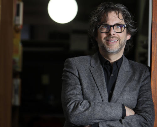 "FILE - This Dec. 6, 2010 file photo shows author Michael Chabon posings for a photo in New York. Chabon's ""Telegraph Avenue,"" was named one of 2012's notable books by The New York Times. His first novel in five years, its release was one of the literary events of 2012. (AP Photo/Seth Wenig, file)"