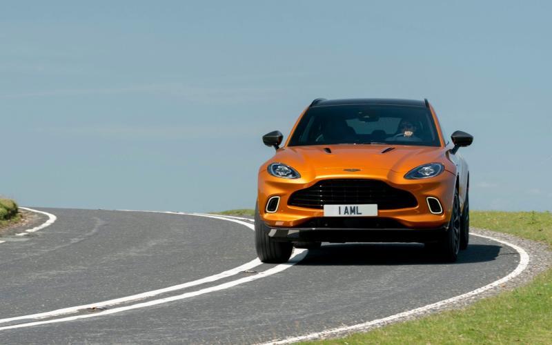 Aston Martin DBX - tested August 2020 - Max Earey