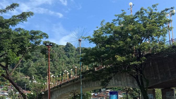 Jembatan Siti Nurbaya. (Liputan6.com/Elvina Yollanda)