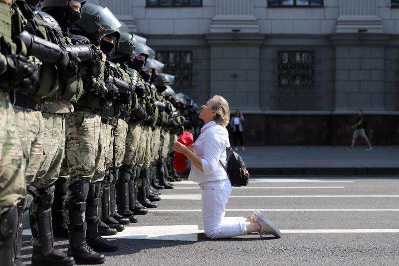 APTOPIX Belarus Protest