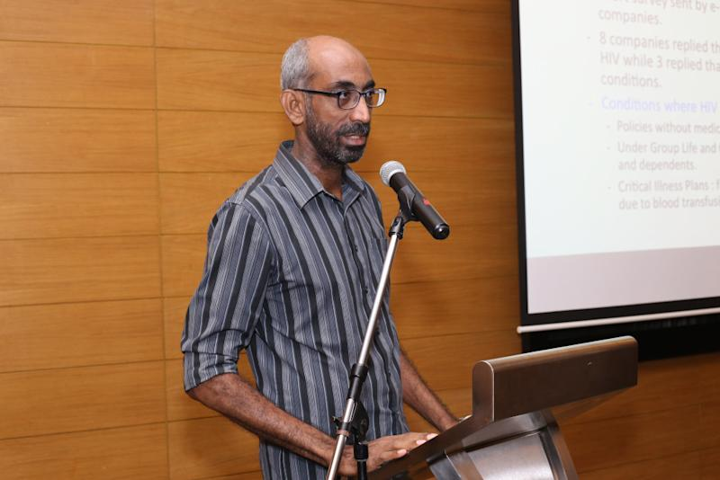Dr Kana Kulasingam (pictured) and Dr Sharuna Verghis talked to 14 individuals living with HIV about their experience applying for health insurance in Malaysia. — Picture courtesy of Malaysian AIDS Foundation