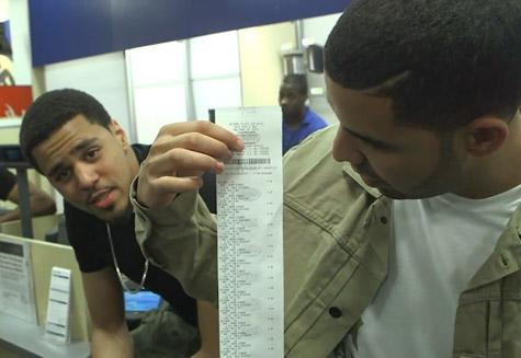 Drake Takes J. Cole on 1 a.m. Shopping Spree at Best Buy