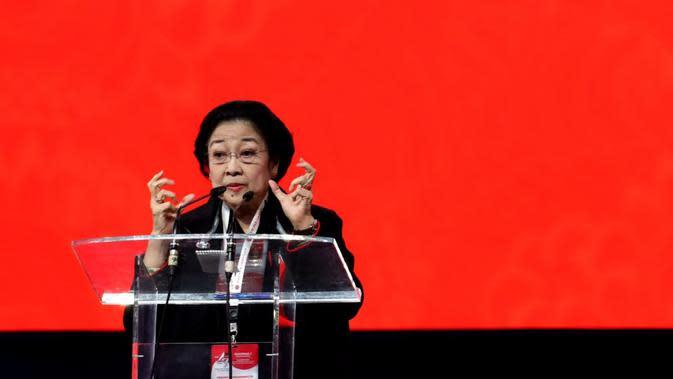 Ketua Umum DPP PDIP Megawati Soekarnoputri. (Putu Merta Suryaputra/Liputan6.com)