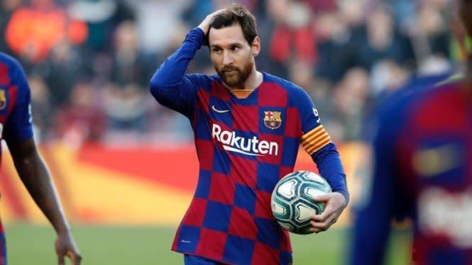 Curhat Messi di Tengah Pandemi Virus Corona: Sepakbola Tak Lagi Sama