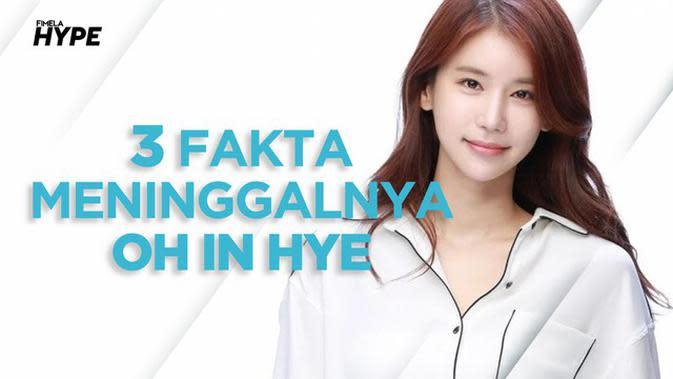 3 Fakta Meninggalnya Aktris Korea Oh In Hye