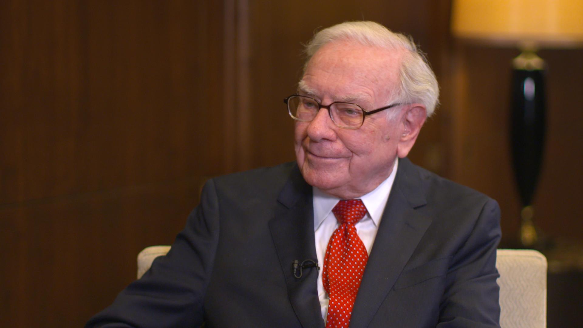 Exclusive: Warren Buffett on the progress of mankind