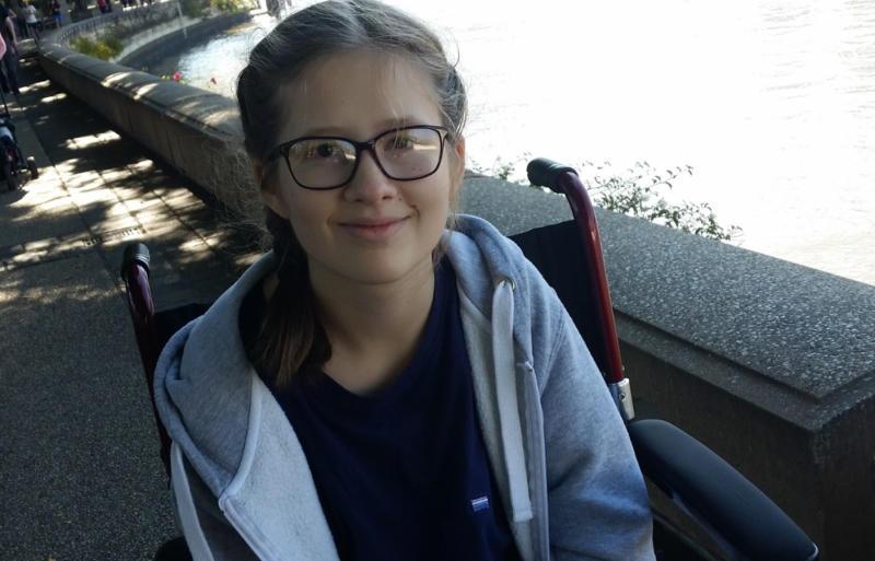 Sophie's teacher has described as a 'mountain mover' and an 'inspiration'.