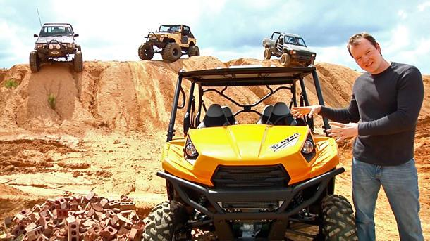 The Kawasaki Teryx, off-roading with the big boys: Motoramic TV