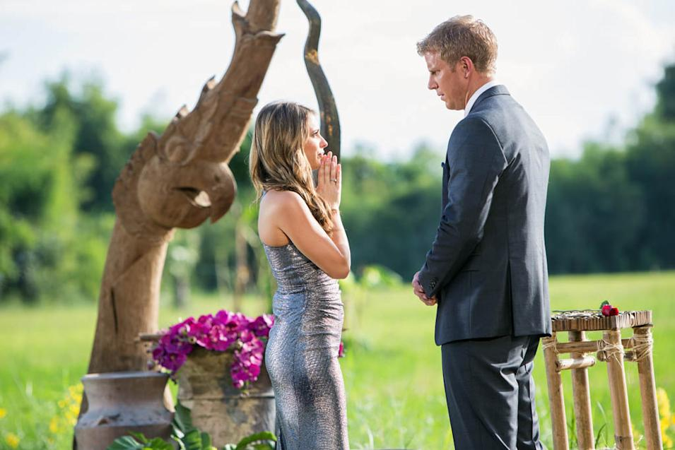 """The Bachelor"" -- ""Episode 1712"" LINDSAY, SEAN LOWE"