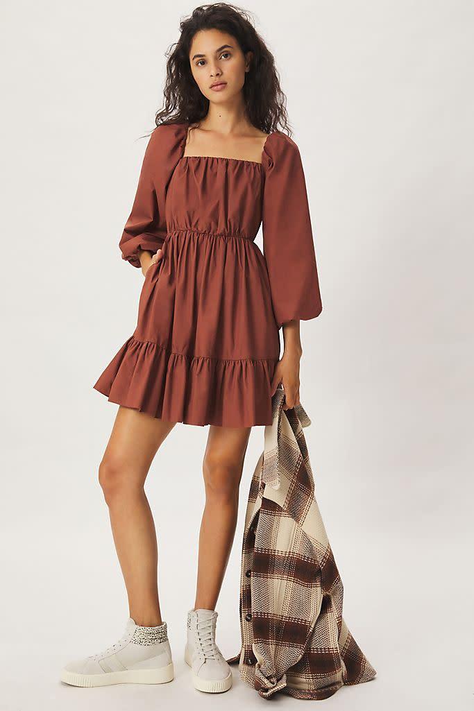 Maria Tunic Dress. Image via Anthropologie.