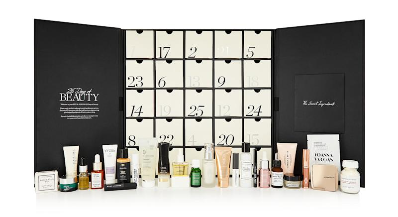 Net-A-Porter's 2019 beauty advent calendar will launch in October [Photo: Net-A-Porter]