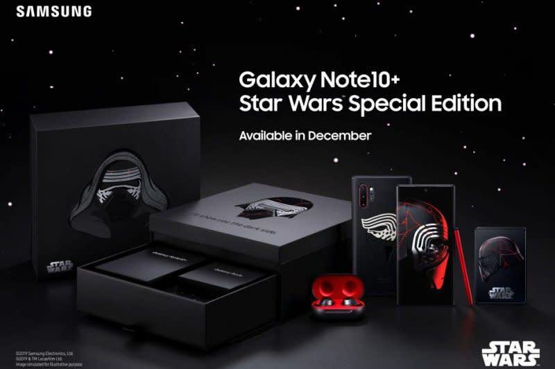 Samsung akan rilis Galaxy Note10+ edisi Star Wars