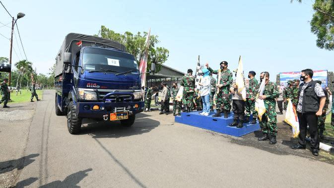 Bantu Warga Terdampak Covid, Altar 89 Bagikan 12 Ribu Paket Sembako di Bogor