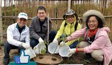 在衝浪聖地種下千棵小樹苗 中信銀用行動共創永續環境