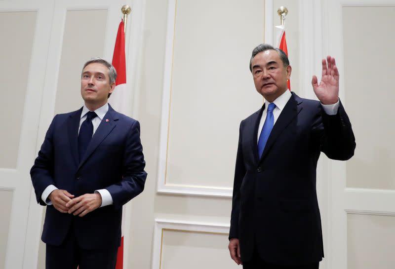 Canada presses China counterpart over detainees, Hong Kong: Ottawa