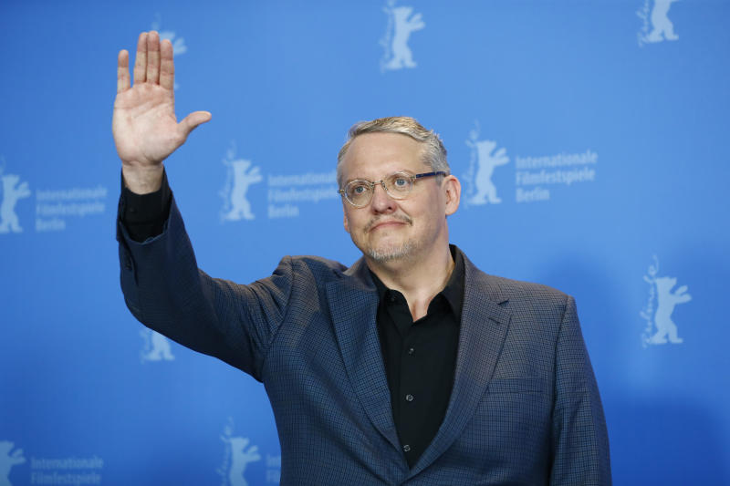 """Director, screenwriter and producer Adam McKay poses during a photocall to promote the movie """"Vice"""" at the 69th Berlinale International Film Festival in Berlin, Germany, February 11, 2019. REUTERS/Fabrizio Bensch"""