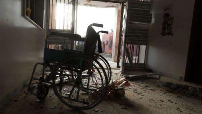 Biadab, Pasukan Singa LNA Rusak Rumah Sakit Pusat Tripoli