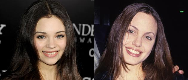 Girl cast as young Angelina Jolie has more in common than looks