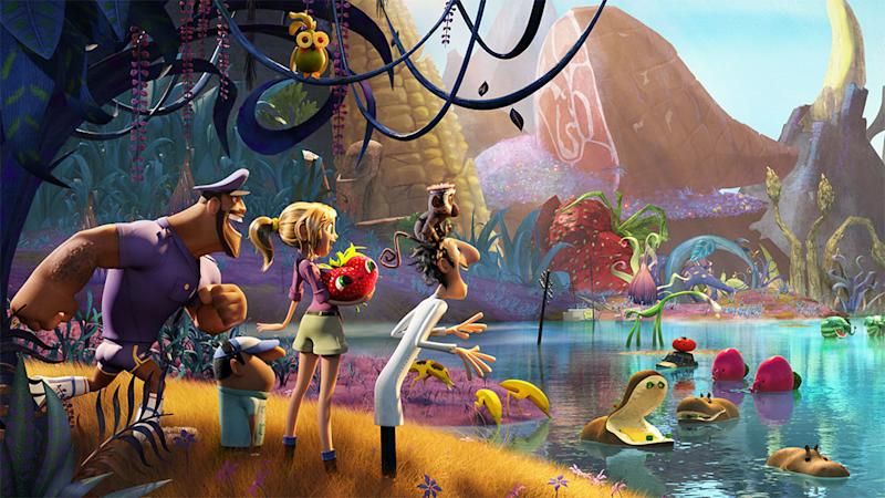 Exclusive 'Cloudy with a Chance of Meatballs 2′ trailer has food that can eat you