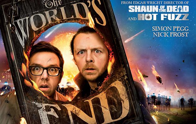 Simon Pegg and Nick Frost Take on Beer and Aliens in First Trailer for 'The World's End'