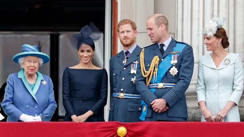 Queen Elizabeth Announces She's 'Entirely Supportive' of Prince Harry and Meghan Markle