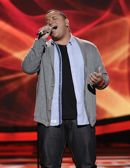 "Jeremy Rosado performs ""Ribbon in the Sky"" by Stevie Wonder on American Idol."""