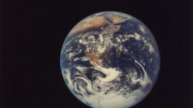 Ilustrasi bumi (Foto: unsplash.com/The New York Public Library)